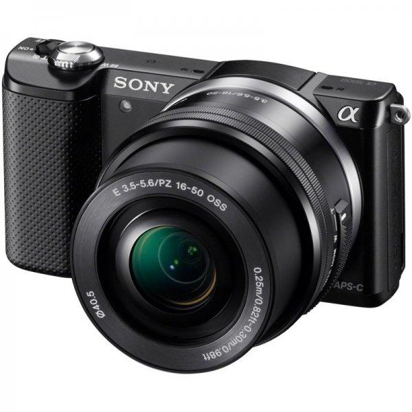 (AT) SONY Alpha 5000+16-50mm schwarz bei MM Österreich inkl. Versand (nach AT)
