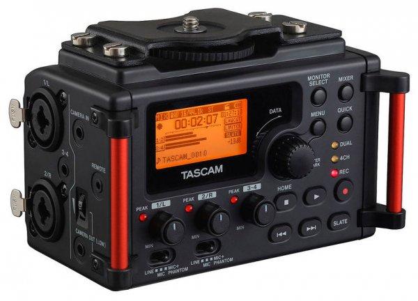 Tascam DR-60D MkII - Audiorecorder für DSLR-Kameras (+ 5% Qipu machbar)