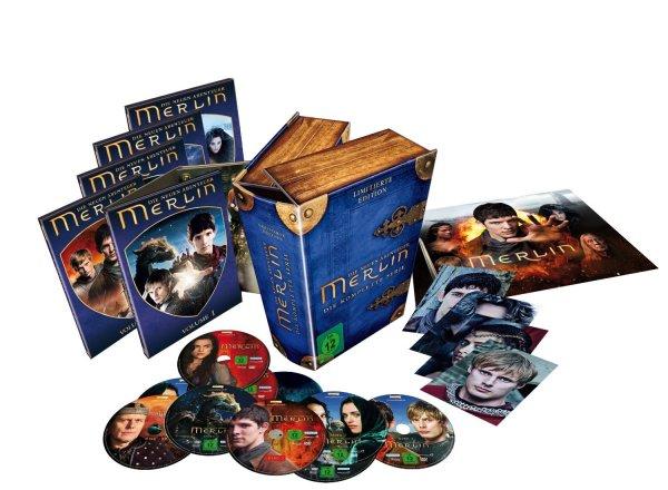 *Abgelaufen* Merlin - Die neuen Abenteuer - Die komplette Serie (30x DVD-9) @MediaDealer