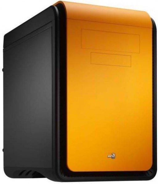 """[ZackZack] Aerocool Mini-Tower """"DS Cube"""" PC-Gehäuse (Farbe schwarz/orange) für 39,99"""