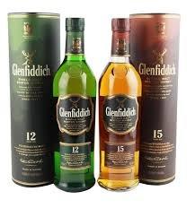 Whiskey Glenfiddich 12 und 15 Jahre für 22,99€ / 29,99 € + kostenlosen Versand