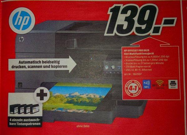Lokal: HP Officejet Pro 8620 e-All-in-One Multifunktionsdrucker bei MediaMarkt Berlin/BB für 139€ (109€ mit Cashback möglich)