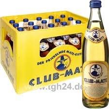 [teilweise Berlin] Club Mate 0,5l geliefert 12,59€/ Kasten + Pfand + Mindestliefermenge - evtl. Treppenzuschlag oder Neukundenrabatt