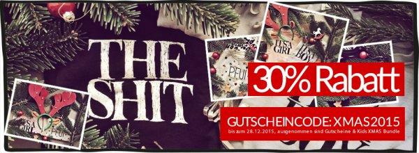 www.theshitonline.com - 30 % auf das gesamte Sortiment