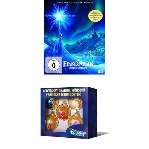 """Die Eiskönigin Digibook [3D Blu-ray] und Christbaumkugeln """"Findet Nemo"""" 14,97€ @Amazon PRIME"""