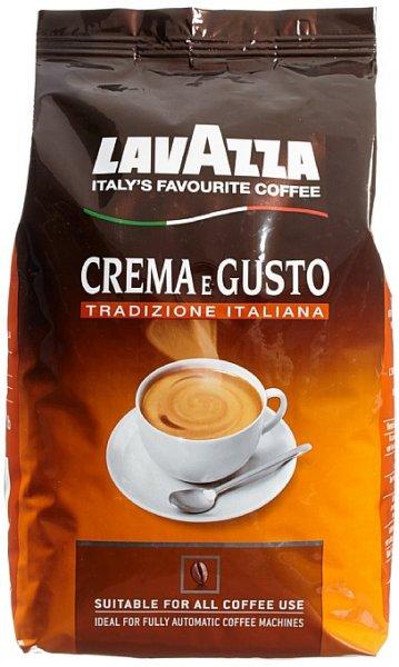 [Amazon.de-Prime-Plusprodukt] Lavazza Crema E Gusto Tradizione Italiana Bohne, 1er Pack (1 x 1 kg) ab8,46€