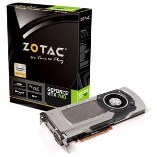 Grafikkarte: Zotac GeForce GTX 780, 3GB GDDR5, 2x DVI, HDMI, DisplayPort (ZT-70202-10P) für nur 228,66 €