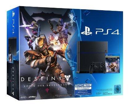 PlayStation 4 - Konsole (500GB) inkl. Destiny: König der Besessenen [CUH-1116A] für 299€ @AMAZON