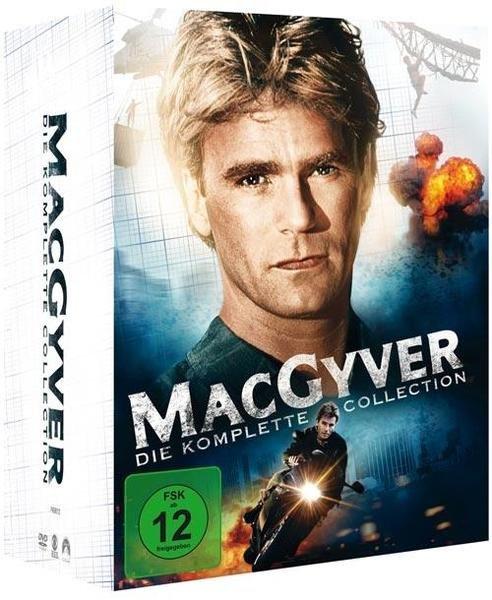 MacGyver - Die komplette Collection (38 Discs) für 46,74€ bei Bol.de