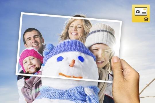 (iOS/Android/Windows) kostenlose Fotopostkarte (FUNCARD - Deutsche Post)