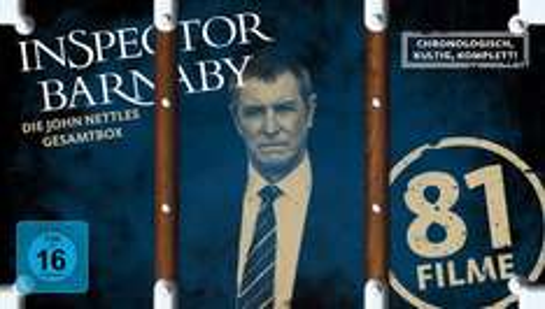 [ebay.de] Inspector Barnaby - Die John Nettles Gesamtbox - (DVD + CD) 119,- + 1,99 Versand
