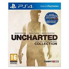 Bei Real Uncharted Collection plus PS 4 500 GB für 333 Euro