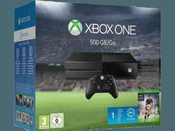 MICROSOFT Xbox One Konsole 500GB inkl. FIFA 16