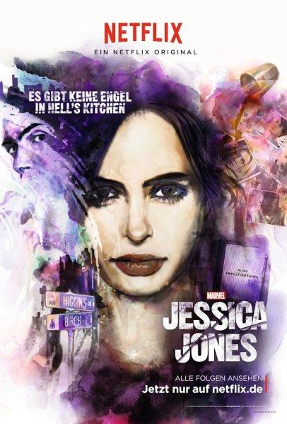 Jessica Jones Netflix Plakate