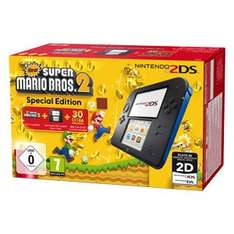 Nintendo 2DS New Super Mario Bros. 2 Special Edition für 74€ bei Real.de