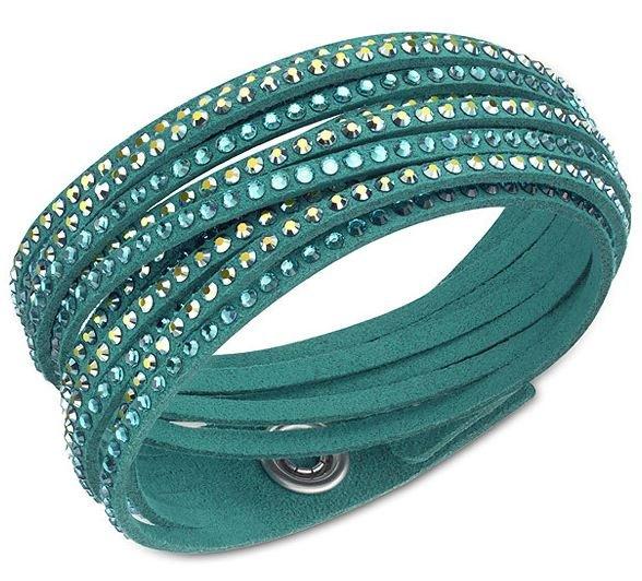 Swarovski Slake Deluxe Green Armband