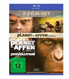 Planet der Affen & Planet der Affen - Prevolution [Blu-ray] für 8,99€ bei Media Markt