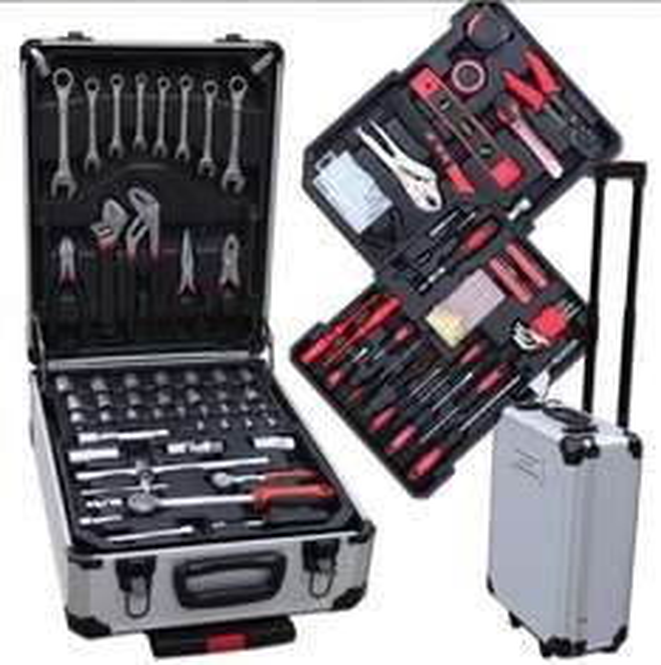 ebay-wow: 207-teiliger Werkzeugkoffer Alu Trolley für 59,95€ inkl. Vsk.