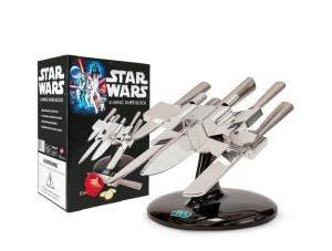 [Sowaswillichauch] heute 25% Rabatt auf das gesamte Sortiment ohne MBW, z.B. Star Wars Messerset X-Wing Messerblock mit 5 Messern für 71,90€ statt 90€