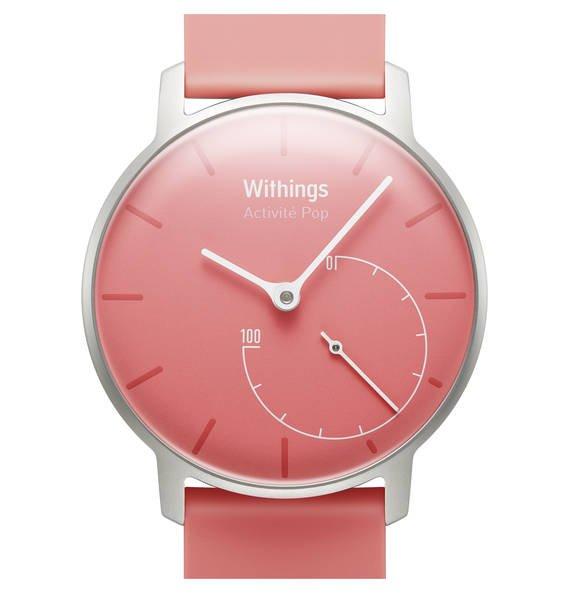 Withings Activité POP Coral Pink und Blau inkl. 3 Wechselbänder für 127,46 €
