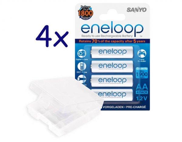 [allyouneed] 16x Sanyo Eneloop Micro AAA + Box HR-4UTGB