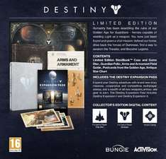 [amazon.co.uk] Destiny Limited Edition PS4 für 29,09€ inkl. Versandkosten
