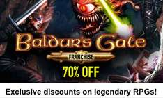 [Steam] Baldur's Gate (1 und 2) / Icewind Dale in der Enhanced Edition für je 5,99€ @ Bundle Stars