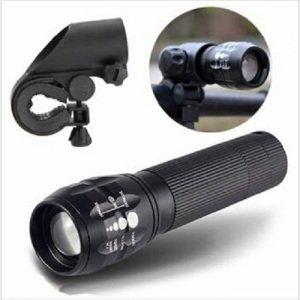 [Banggood] Cree Q5 Taschenlampe 240LM mit Fahrradhalterung für nur 3,26€ inkl. Versand
