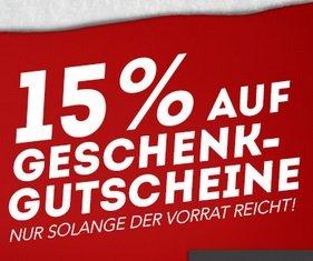 [11Teamsports] 15 % auf alle Gutscheine - z.B. 40 € für 29 € (mit NL-Gutschein)
