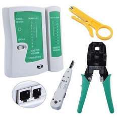 Ethernet Network Tool Kit Kabel Tester für 13.73€