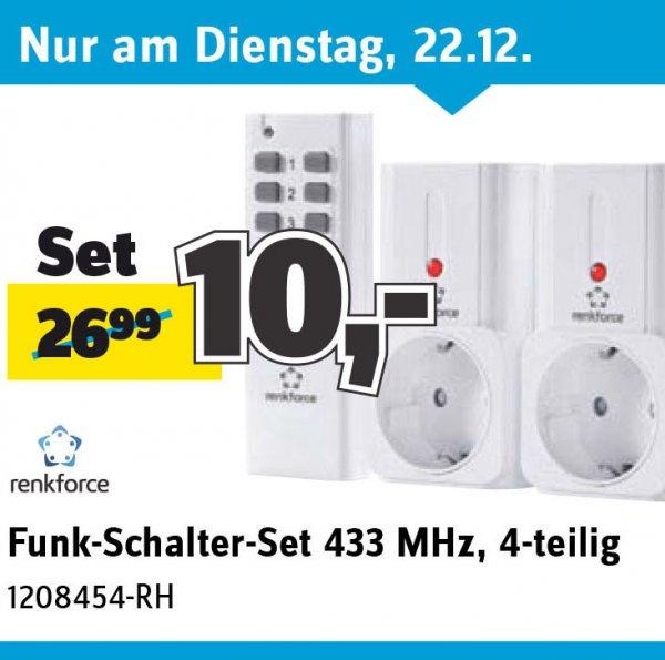 [Conrad Sammeldeal] z. B. ein 4-teiliges Funk-Schalter-Set statt 27 € nur 10 €