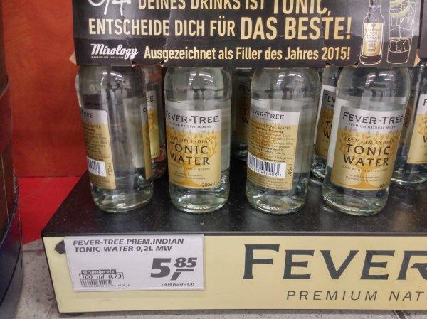 [LOKAL Lübeck] [Real] Fever Tree Premium Indian Tonic, 4 Flaschen zu 5,85 € (=1,4625 € / Flasche)