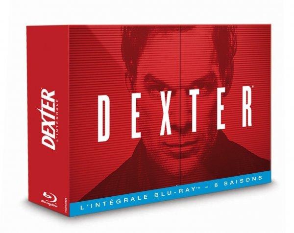 Dexter - Die komplette Serie (Blu-ray) OT für 68,20€ Amazon.fr