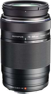 Olympus M. Zuiko Digital 75-300mm f4.8-6.7 ED II Objektiv für 355,74€ bei Amazon.fr