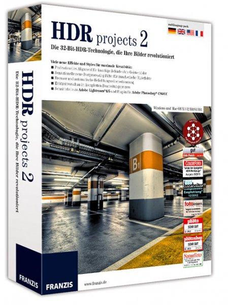Bildbearbeitungssoftware HDR-Projects 2 im Wert von 149.- Euro gratis , evtl. NUR HEUTE