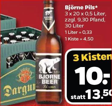 30 Liter Darguner Pils-Bier zu 33,3cent pro Liter [Netto Bundesweit, wo vorhanden]