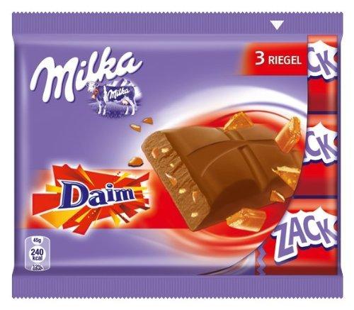 Preisfehler Amazon. Milka/Daim Schokoriegel 5,37 Euro für ca. 2,3 KG