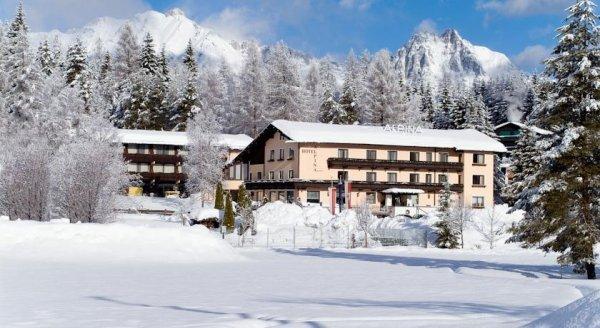 2 Nächte / 3Tage All Inclusive + Wellness für 2 Personen im 3*** Hotel in Tirol/Seefeld direkt am Skigebiet