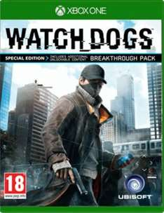[Amazon.co.uk] Watch Dogs Xbox One