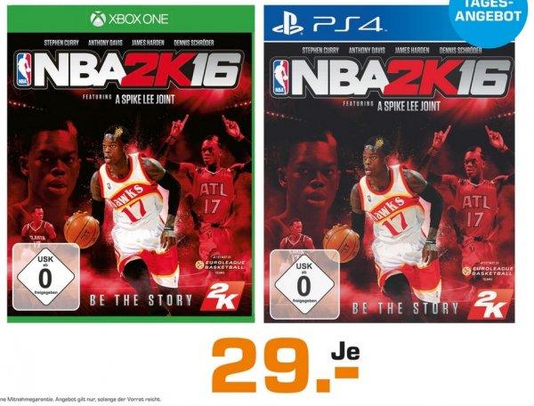 [Lokal] Saturn Berlin NBA 2K16 PS4 / XBox One je 29€ nur am 17.12