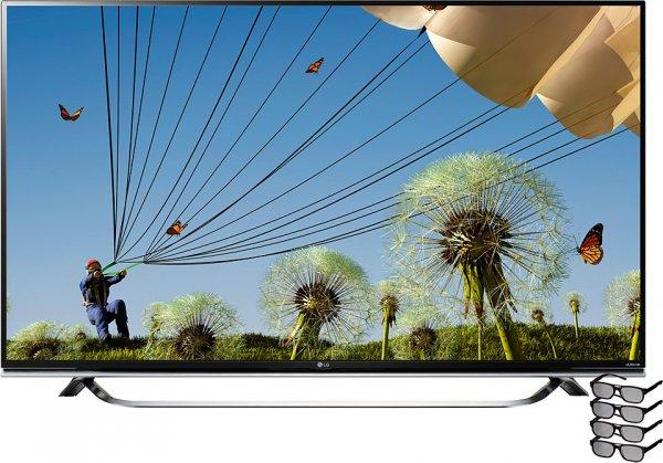 4k UHD LED TV - LG 60UF8509 für 1649,-€ (Amazon Angebot des Tages; Vergleichspreis 1899,-€)