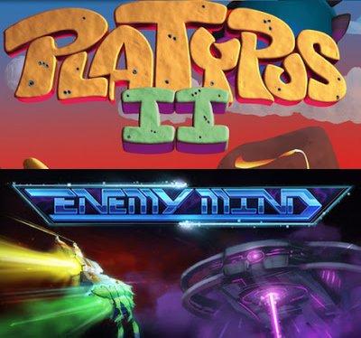 [Steam] Platypus 2 & Enemy Mind (@indiekings)