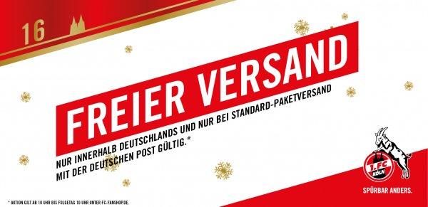 Kostenloser Versand / Fanshop 1.FC Köln