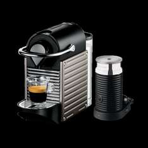 [Saturn]: KRUPS XN301T Nespresso Pixie + Milchaufschäumer incl. Gutschein für 200 Kapseln (Wert 75€) für 129€