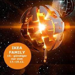 [lokal] IKEA Nürnberg/Fürth PS 2014 Hängeleuchte für 39 Euro für IKEA-Family-Mitglieder