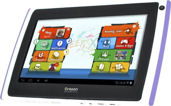@Amazon.fr: Oregon Scientific Meep X2 - 7 Zoll Kinder Tablet für 16,47€ inkl. Lieferung