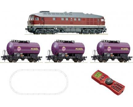 [SMDV] Roco 51271 H0 Digital-Startset Güterzug der DR 189€ + 2% qipu