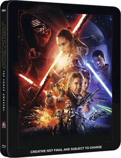 zavvi.de: Star Wars: Das Erwachen der Macht - Zavvi exklusives Limited Edition Steelbook Blu-ray