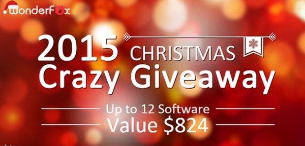 12 Programme Kostenlos - Verrückt Weihnachtsgeschenk Giveaway