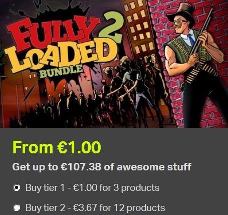 [Steam] Fully Loaded 2 Bundle (12 Games) ab 1,00€ @ Bundle Stars